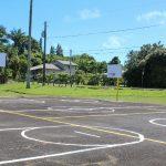 Volunteers Restore Pepe'ekeo Basketball Court