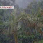 Dry Season Subsides, Wet Season Arrives in Hawai'i