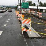 Crews Work On Sidewalk Installation in Hilo