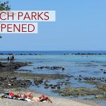Beach Parks Reopen as High Surf Subsides