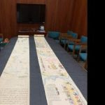 Hamilton Library Gifted Rare Japanese Scrolls