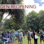 Community Celebrates Reopening of Amy B.H. Greenwell Ethnobotanical Garden