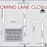 Lane Closure on Hawī Road for Water Service Install