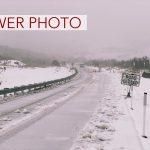 Viewer Photo: Snow on Maunakea Slopes