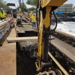 Lane Closures Persist as Work Continues on Ali'i Drive Sink Hole