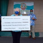 TMT Donates $100K to The Food Basket