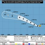 Douglas Poised to Become Hurricane by Thursday
