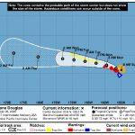 Hurricane Douglas Bears Down on Maui Late Sunday Morning