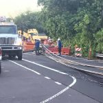 Road Closed After Telephone Pole Falls Across Portion of Ali'i Drive