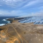 Ka'alualu Bay Brush Fire Close to Contained