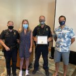 S. Kohala Officer Recognized for Work in Impaired Driving Enforcement