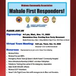 Waimea Community Invited to Participate in Honoring Veterans, First Responders