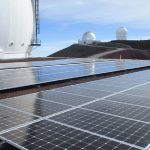 Solar PV System Installed on Telescope Facility Atop Maunakea