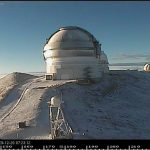 Winter Advisory Brings Snow to Maunakea
