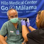 Healthcare Workers Islandwide Get Vaccinated Against COVID-19