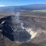 Lava Lake at Halema'uma'u Crater Reaches 718 Feet in Depth