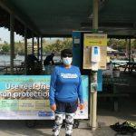 Reef Safe Sunscreen Dispensers Installed at Kahalu'u Beach