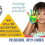 Preschool Open Doors Program Accepting Applications