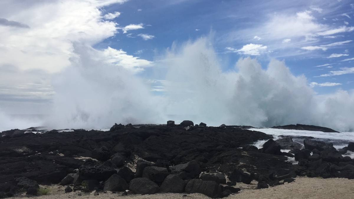 Hawaii County Surf Forecast for April 14, 2021
