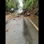 Landslide Closes Lane on Big Island Bridge