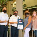 HFD Donates Over $1K to America Cancer Society of Hawaiʻi Island