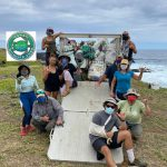 Hawai'i Wildlife Fund Celebrates Removal of 300 Tons of Marine Debris Since 2003