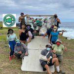 Hawai'i Wildlife Fund Celebrates Removal of 300 Tons of Marine Debris Since 2003