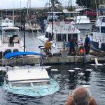 Fishing Vessel Sinks at Honokōhau Harbor