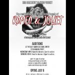 Hilo Community Players Announces Auditions for Romeo and Juliet