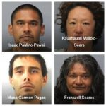 Warrant Sweep Operation Yields 7 Arrests