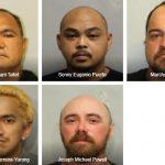 5 Men Arrested for Child Solicitation in Multi-Agency Operation