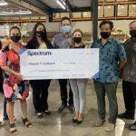 Spectrum Awards $10,000 to the Hawaii Foodbank