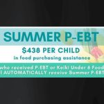 Summer P-EBT Benefits Begin July 2021