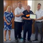 Officer Robert Sakata Honored by HISSPA for Commitment and Dedication to the Community