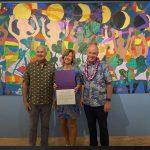 Mayor Roth Recognizes Donkey Mill Art Center