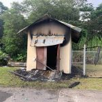 Arson Investigation Underway After Blaze Guts Shed at Lava Tree State Monument